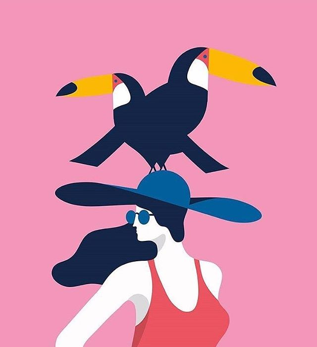 YOU ARE MORE FABULOUS THAN A LADY dressed in red with toucans on her head! Here's your mid-week reminder that nobody can tell you otherwise... thank you @mongequentin