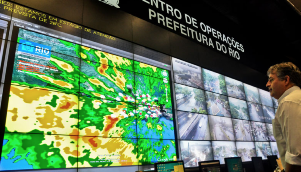 """In cities like Dubai and London, planners use """"urban dashboards"""" to visualize real-time data for surveillance, transport, and waste management purposes, among others.   (Photo by  Museum of the City )"""