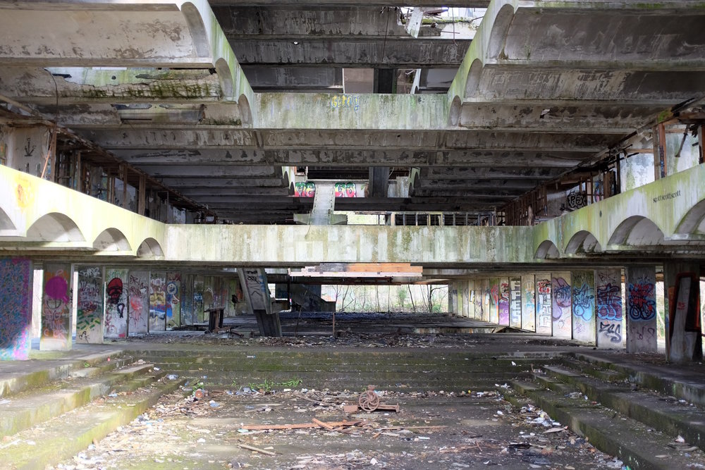 Figure 1: St. Peter's Seminary near Cardross, Scotland (Photo by the author)
