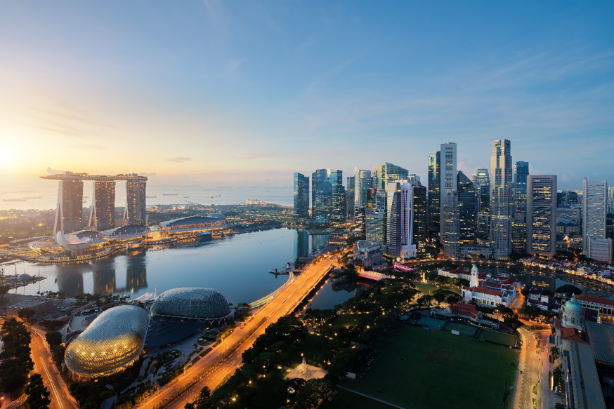 Singapore's Central Business District   (Source:  Shutterstock )