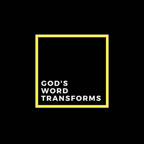 God's word transforms
