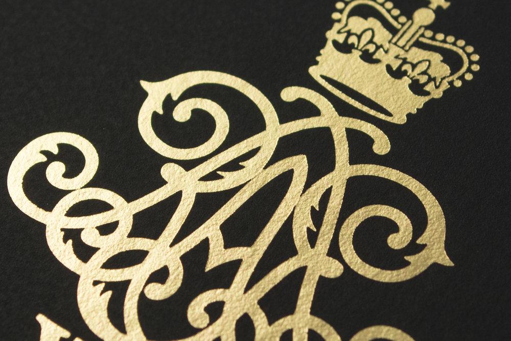 Foil printed Castelli Matra notebook
