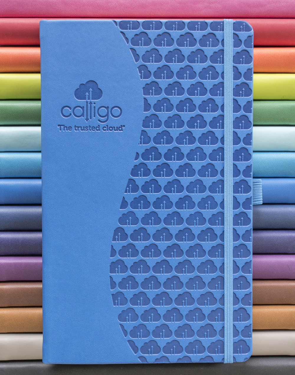 Castelli Tucson notebooks with blind embossing