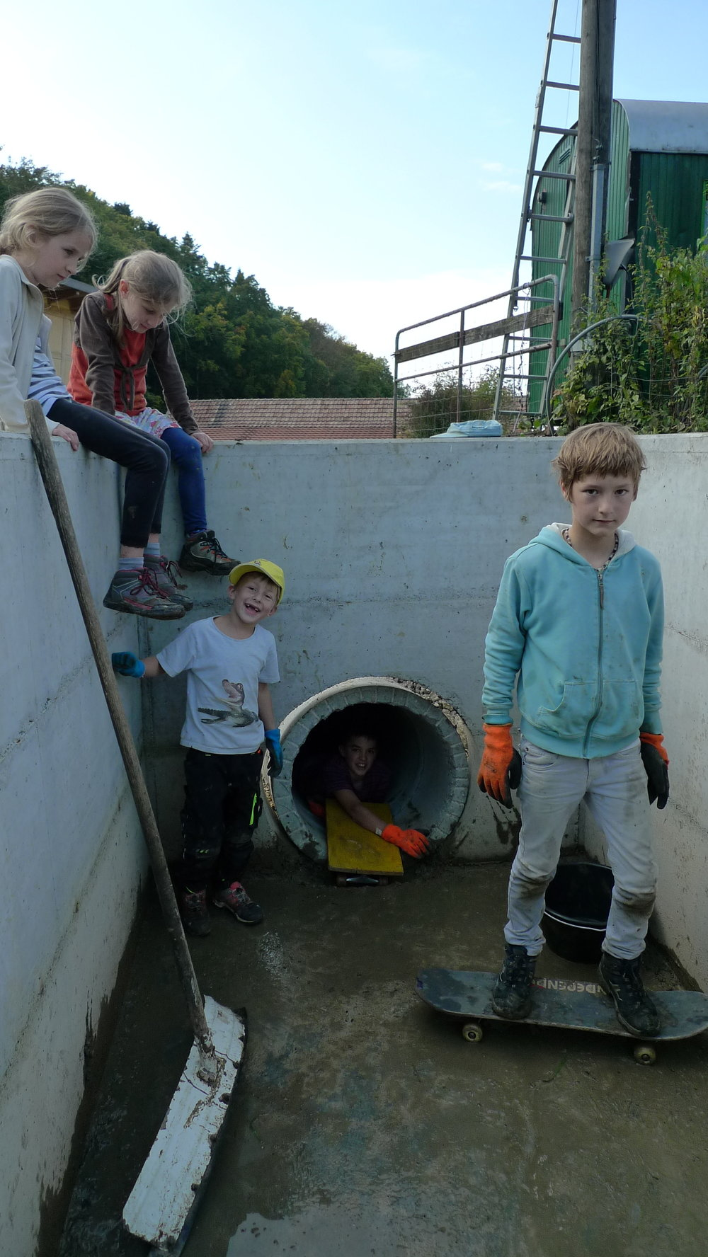 Wasserablauf erkunden und säubern