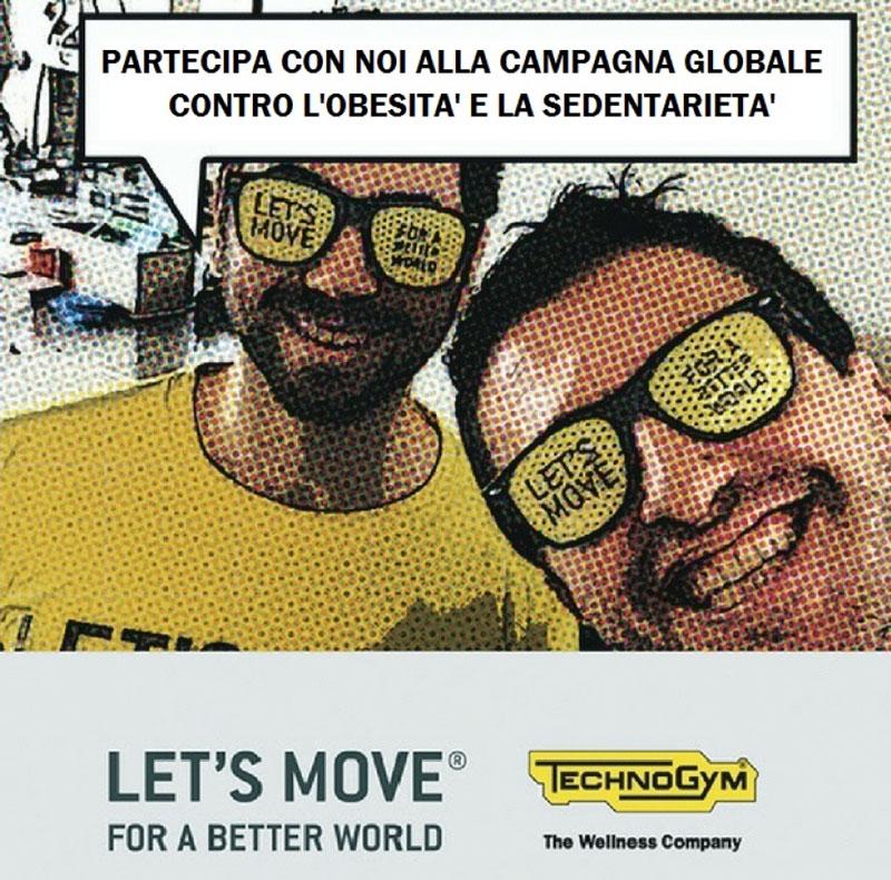 MOVIMENTI partecipa alla campagna Let's Move for a Better World 2017