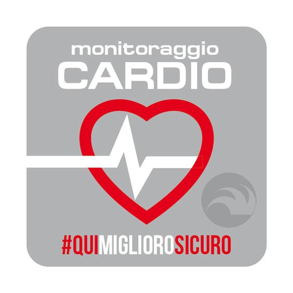 Qui puoi allenarti con monitoraggio cardio in sala