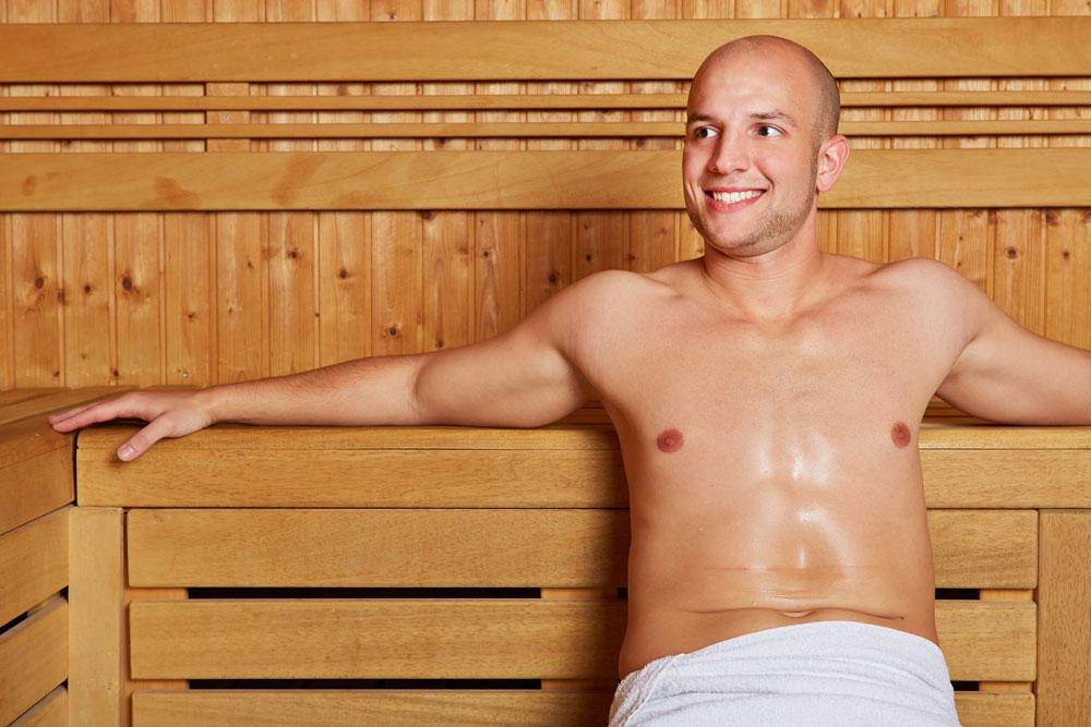 thermarium in palestra: sauna finlandese e bagno turco