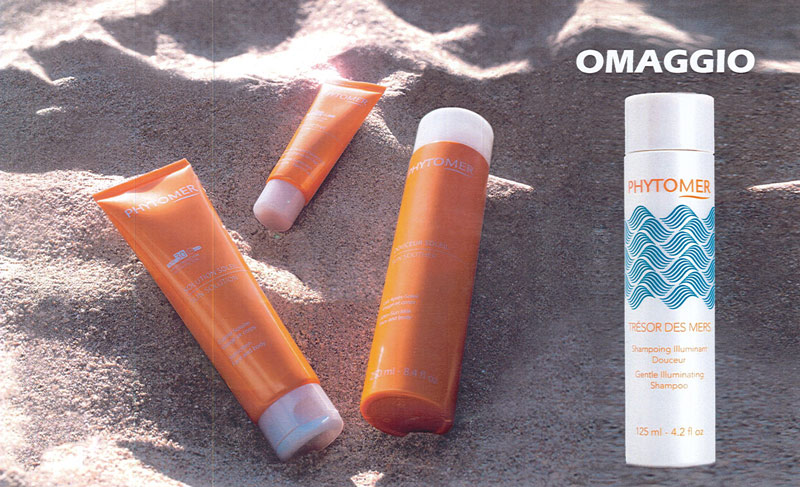 Promozione Solari Phytomer con shampoo in omaggio