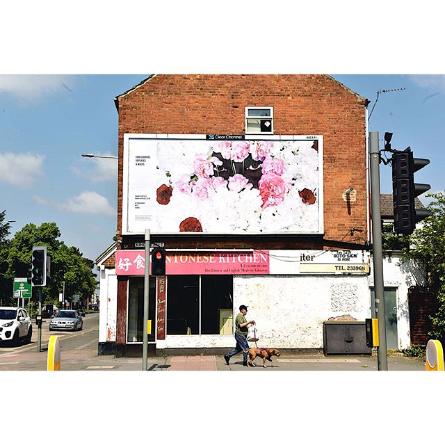 Check out some of the other @cvaneastmidlands #inanotherplace artists' billboards in 10 different locations across the East Midlands #amarteygolding #loughborough #ryanheath #nottingham #theomiller #leicester #extraordinaryart #ordinaryplaces