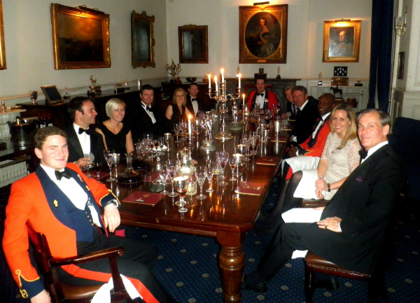 HAC Polo at St James's Palace for the Queen's Guard Dinner