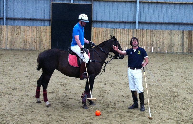 Arena Polo Lesson