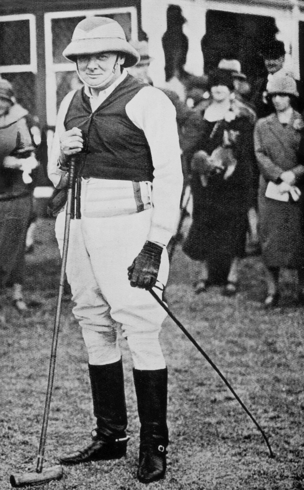 Winston Churchill - The Polo Player