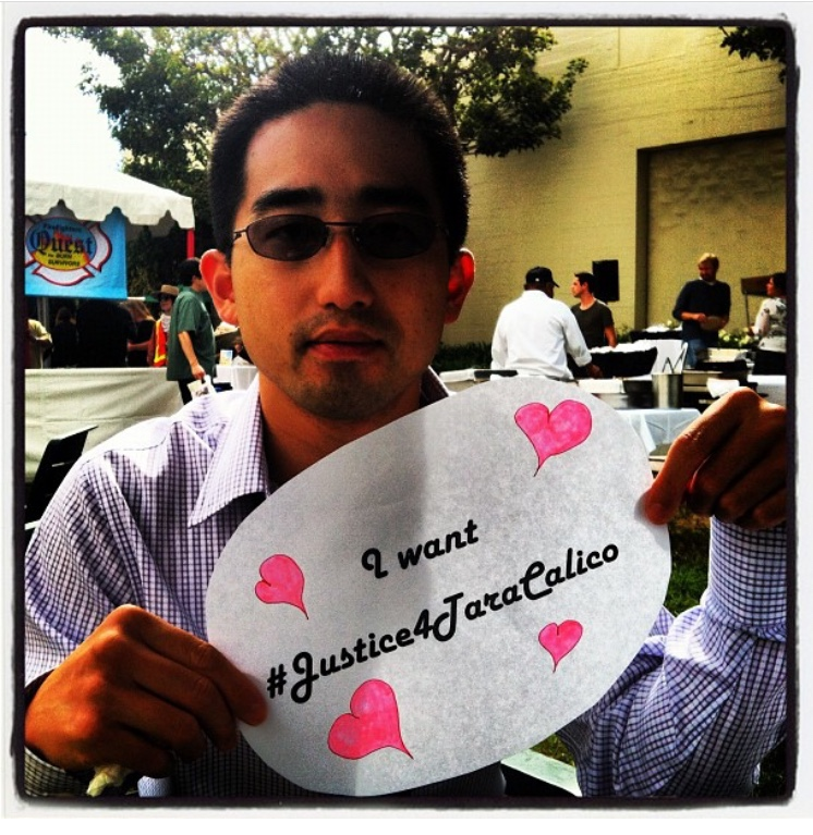 Ernie Kwong wants #Justice4TaraCalico