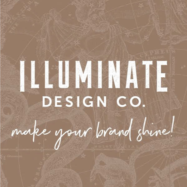 Illuminate Design Co.   10% Off Design Packages #design #logos #branding #print #advertising #artdirection   illuminatedesignco.com