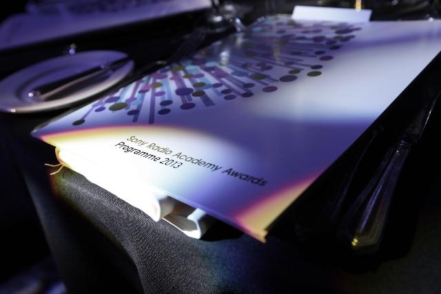 Sony Radio Academy Awards Programme on Tablet