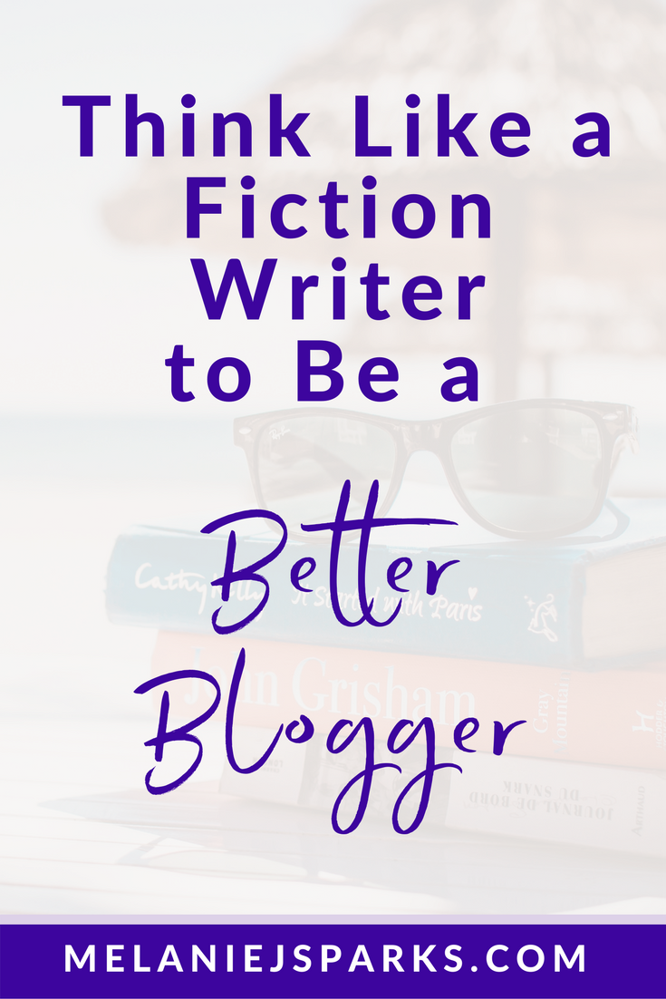 Steal from fiction to write a better blog