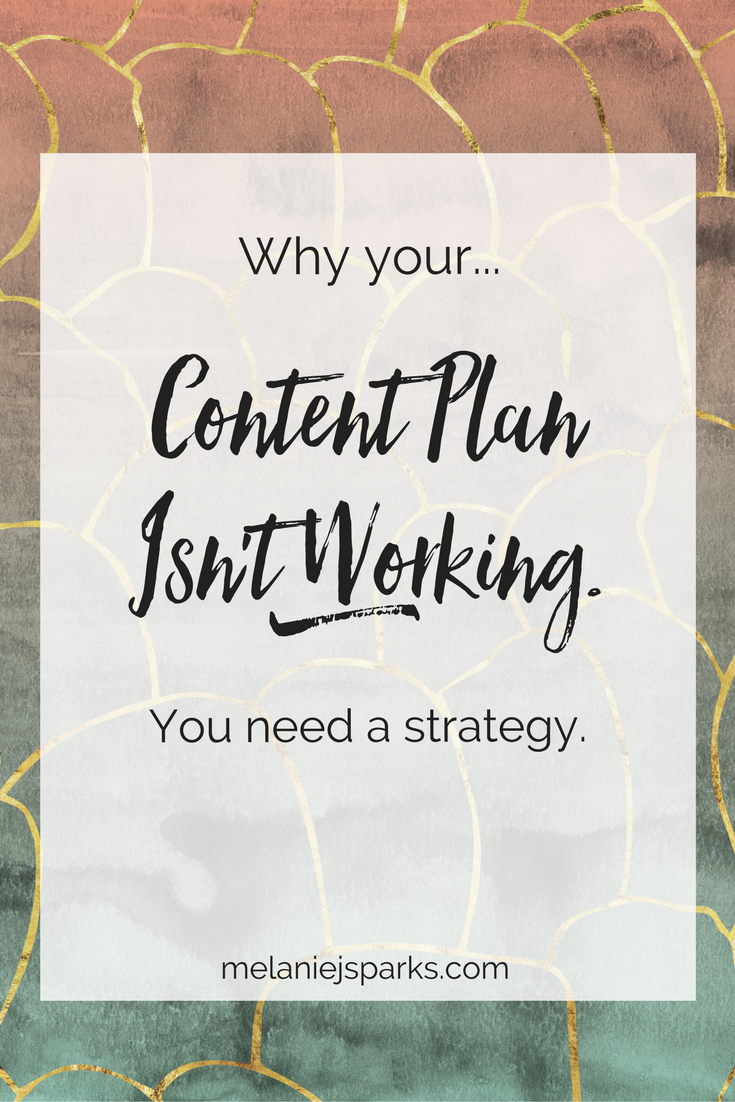 Content strategy for online business owners, content strategy for bloggers, content plan, content calendar for blog