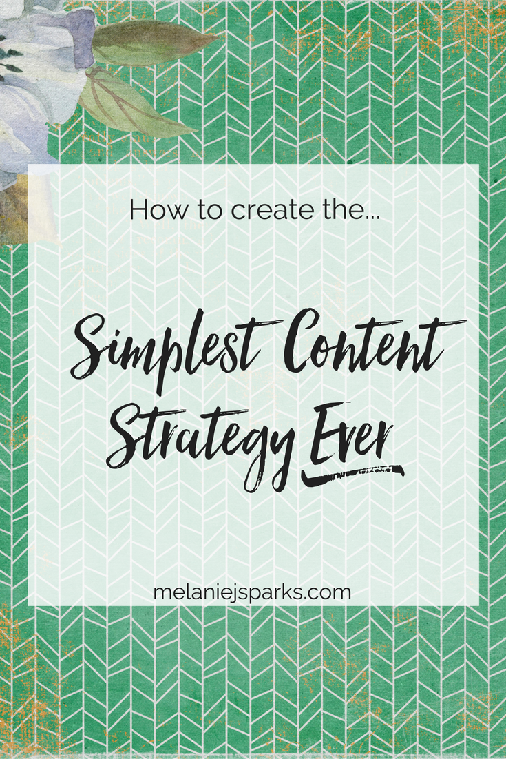 Simple content strategy for bloggers. How to find your blog's content direction. How to determine your audience. What should you write about on your blog?