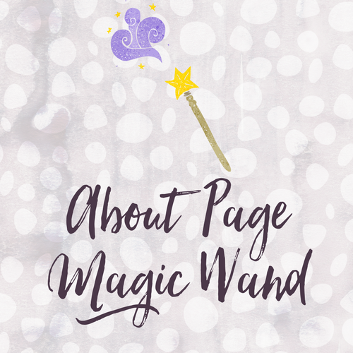 About Page Magic Wand
