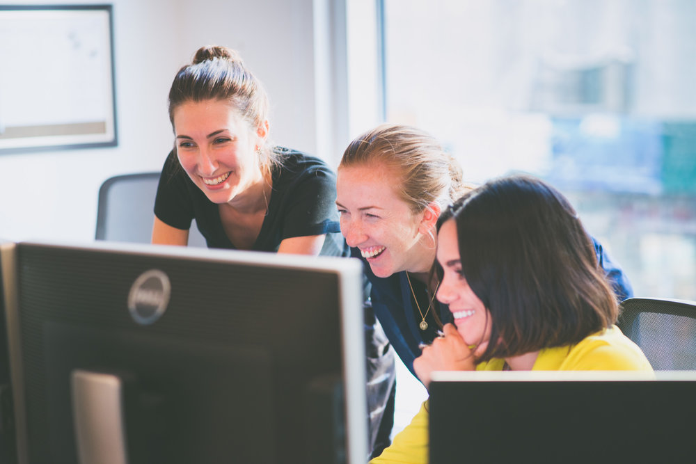 Women on computer at Squarespace - Worklife Portrait - Photo credit Nicola Bailey.jpg