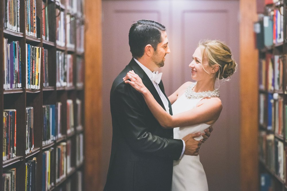 Library embrace - Weddings - Photo credit Nicola Bailey.jpg