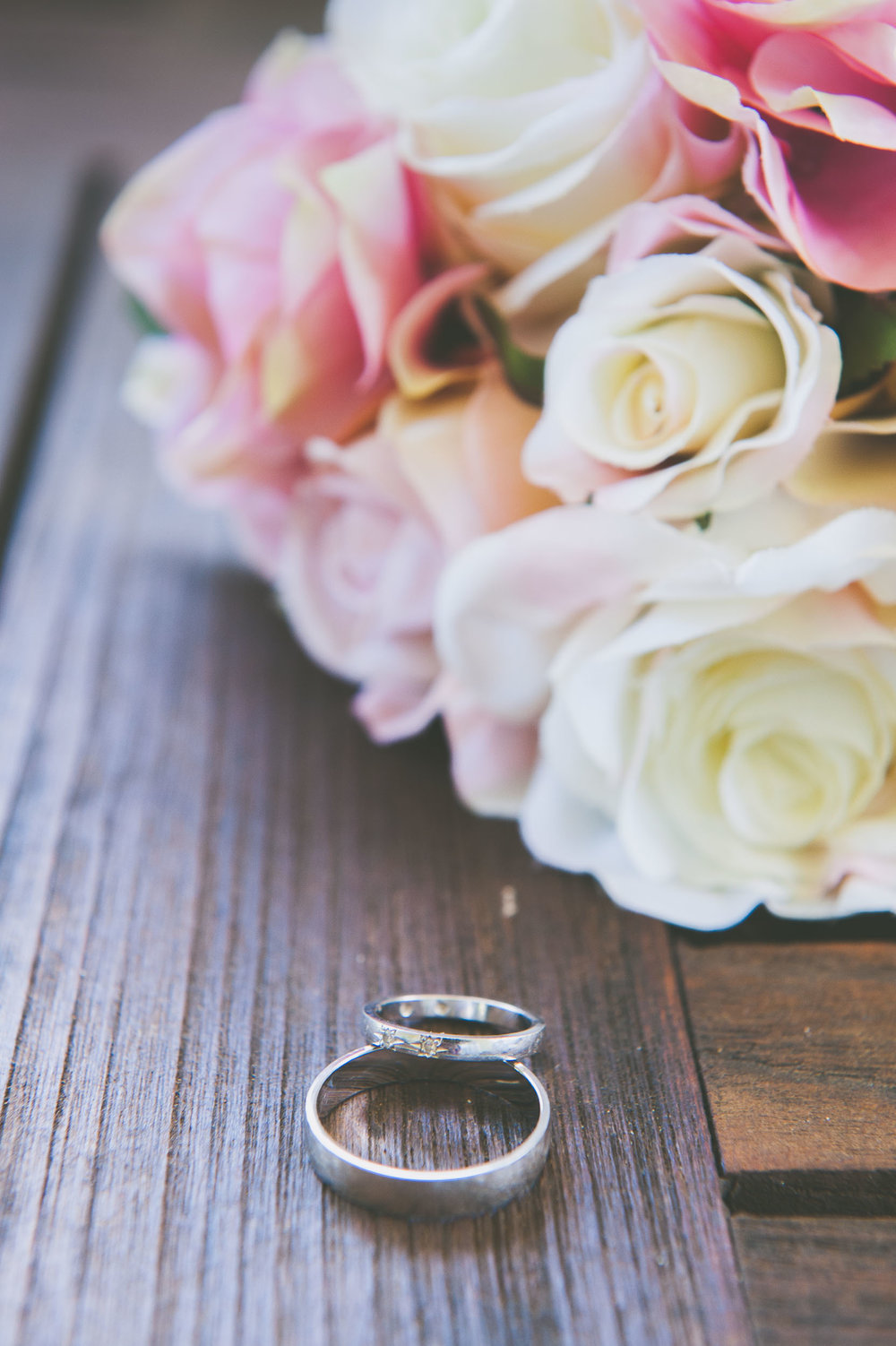 Pink bouquet and rings - Weddings - Photo credit Nicola Bailey.jpg