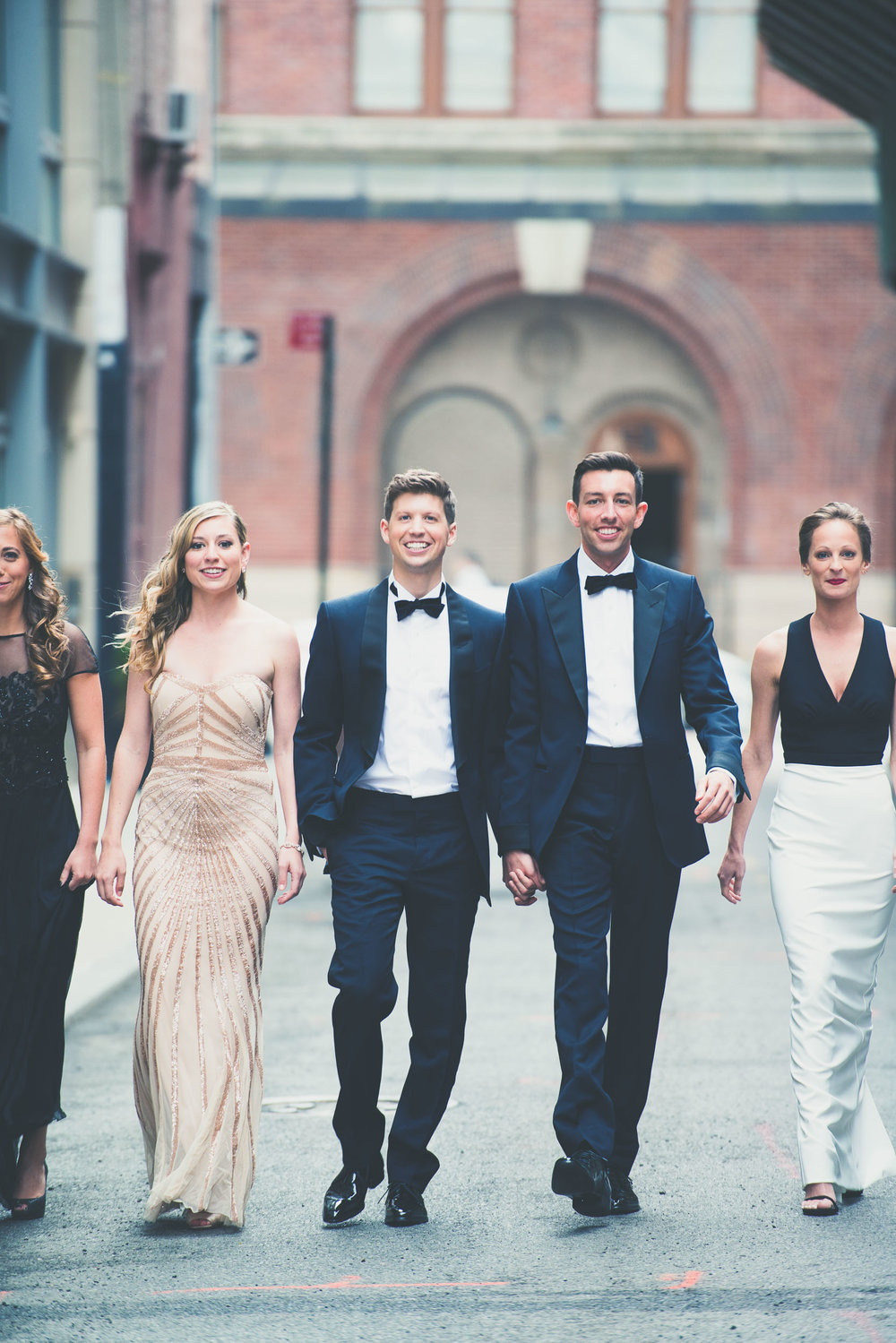 Same sex bridal party - Weddings - Photo credit Nicola Bailey.jpg