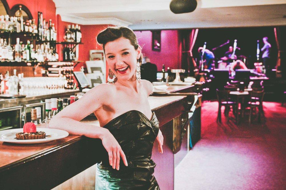 Cabaret waitress - worklife portraits -  photo credit Nicola Bailey.jpg