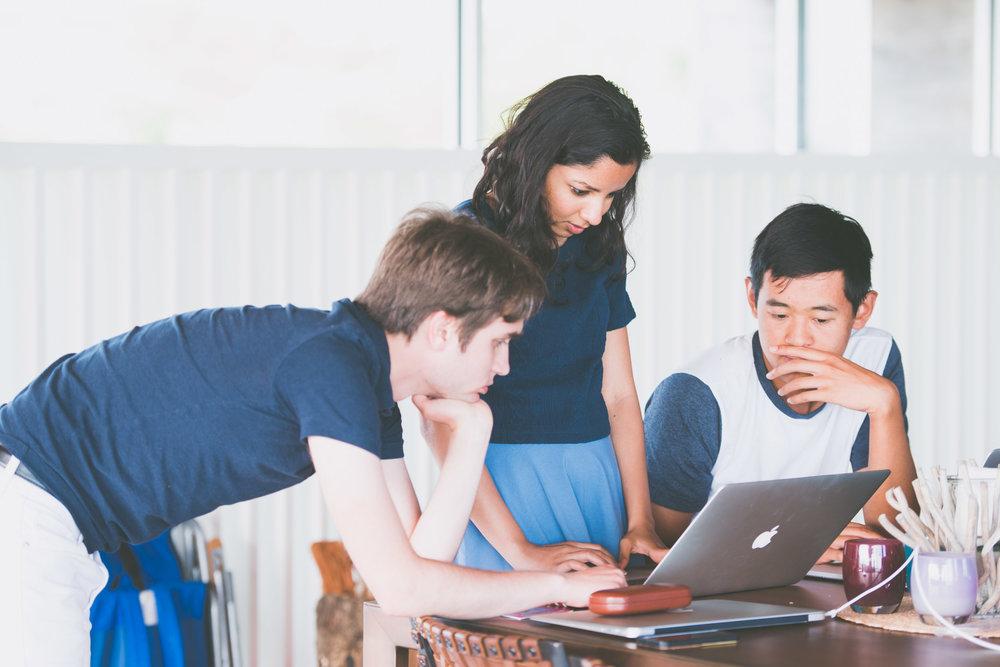 Trio on laptop - worklife portraits -  photo credit Nicola Bailey.jpg