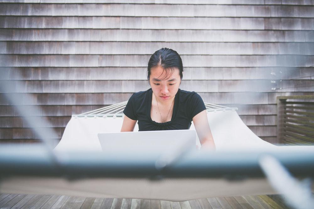 Woman working on a hammock- worklife portraits -  photo credit Nicola Bailey.jpg