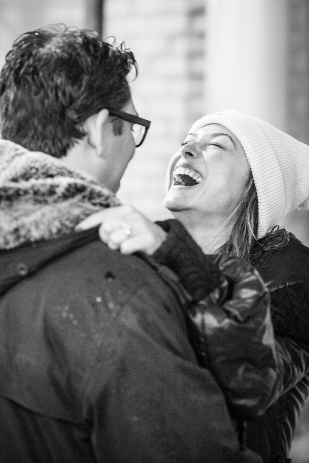 Laughing - Engagement Portraits - Photo credit Nicola Bailey.jpg