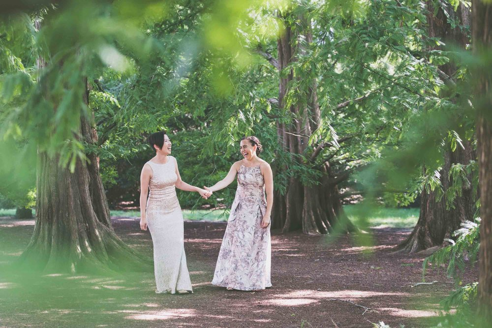 Wedding - same sex women in trees - Photo credit Nicola Bailey.jpg