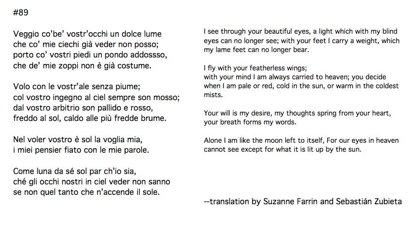 from Suzanne Farrin's La Dolce Morte -