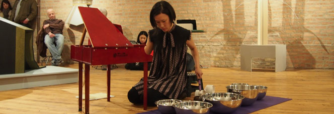 Phyllis Chen plays at Chicago's Corbett vs. Dempsey gallery.