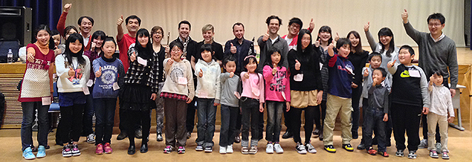 The inspiring student composers of    Friends of El Sistema, Japan   .
