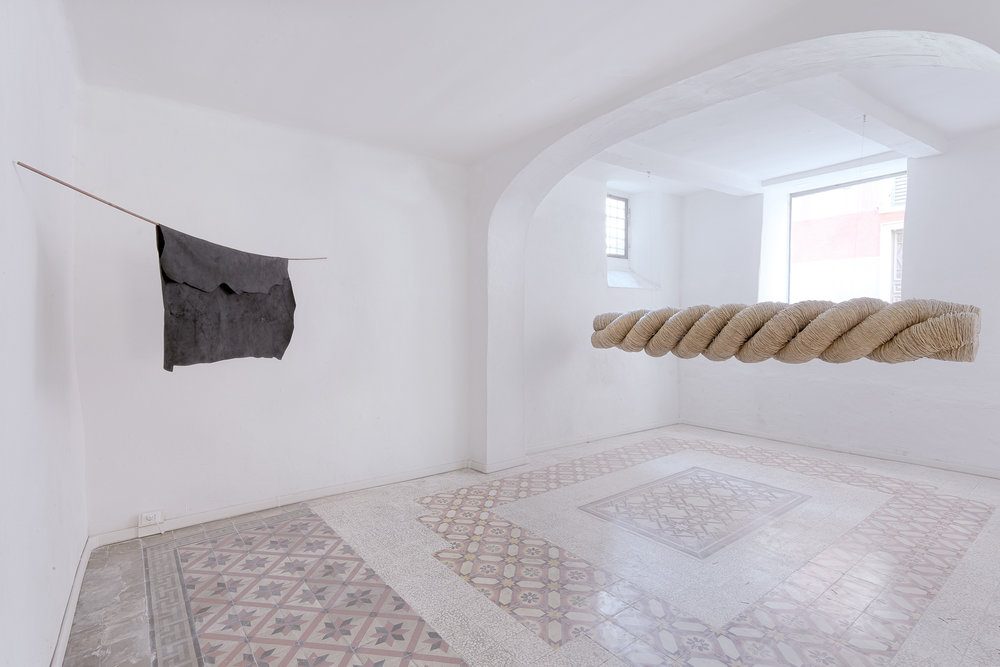 Augmented fragility , Installation view