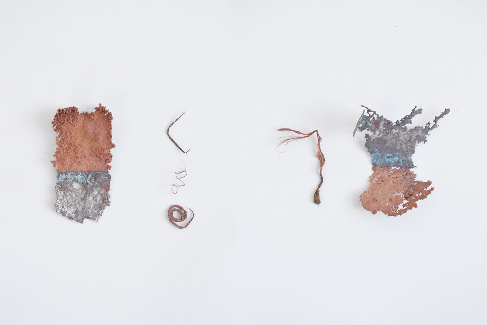 Unifying polarities , Altered found copper