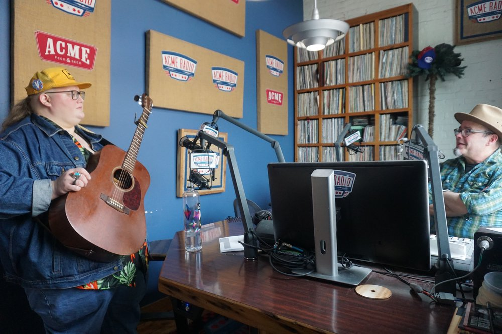 "11:53 AM; ACME Radio Spot - Walker spends the next two hours swapping stories of Dallas, Guy Clark, couch surfing, ""Volvere, Volvere"" and more on Vinyl Lunch with host Tim Hibbs."