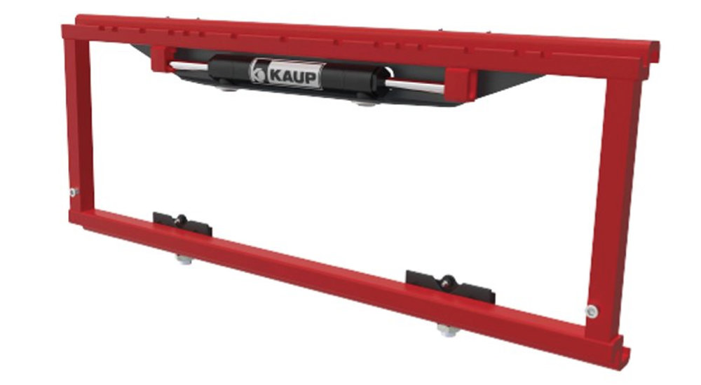 SIDE SHIFTERS - The OEA-Kaup Sideshifter allows for lateral shifting of the load.