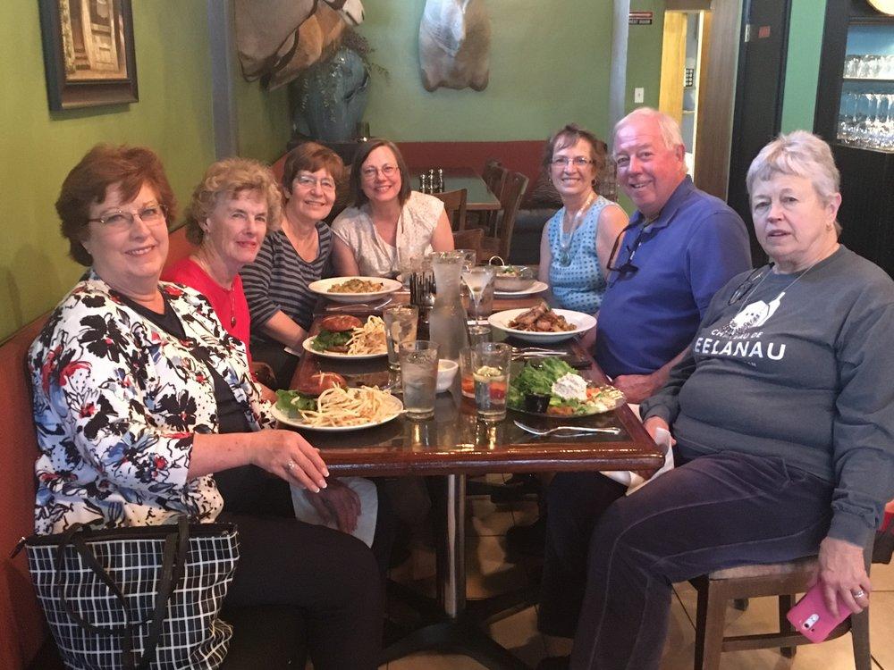 Tour groups for single seniors