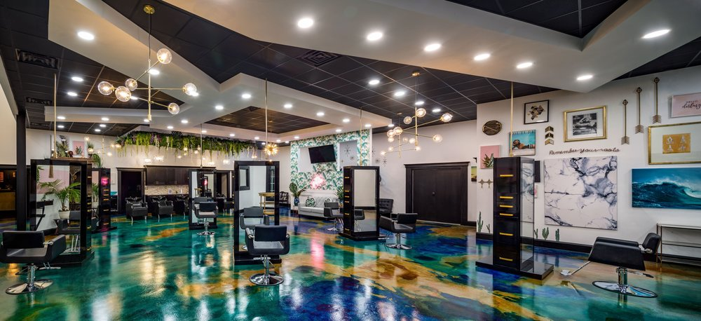 """⭐️⭐️⭐️⭐️⭐️  Over  500 Positive+ Reviews  across all Platforms   Winner of Metro's Best Hair Salon 2018    Named Top 200 """"Salon of the Year"""" for 2018 by    Salon Today Magazine"""