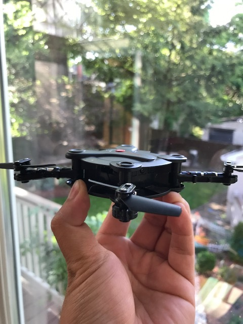 My miniature drone in 2017. Many things have changed for the five years.