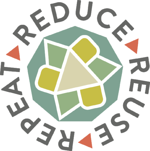 Studio Haus also redesigned the logo for Turnip Green Creative Reuse's fundraising event: Reduce. Reuse. Repeat. The arrows were again incorporated into the mark while giving a fresh approach the notorious recycle symbol that every already knows so well.
