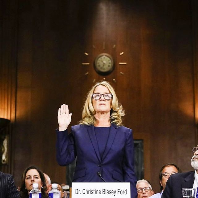 thank you christine blasey ford 🙏 thank you anita hill 🙏 thank you to all the other women who have ever come forward 🙏 you are the change we need #stopkavanaugh #believewomen #believechristineblaseyford #notallheroeswearcapes #timesup #believesurvivors