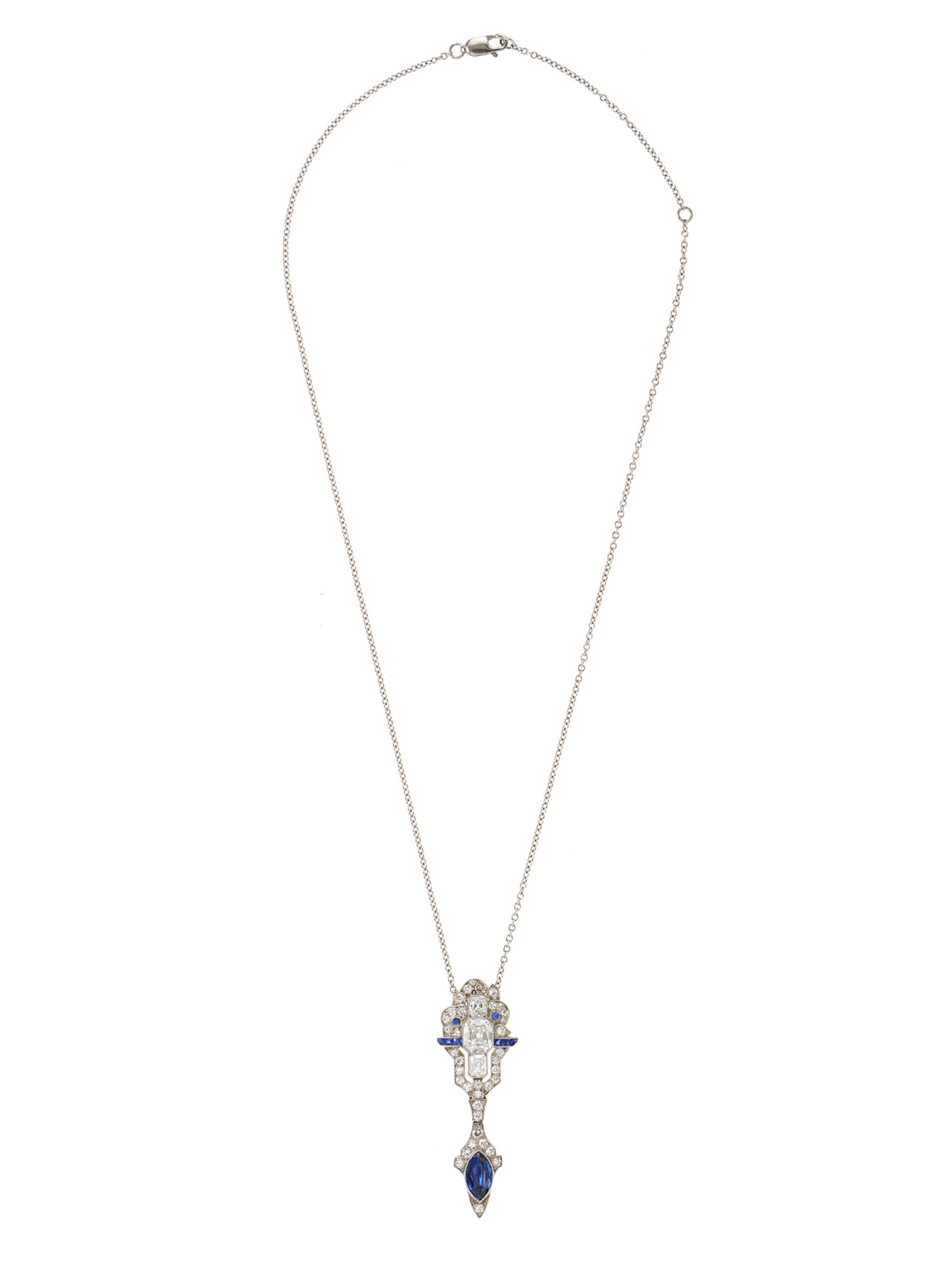 cut silver cushion topaz pendant in white and sterling halo necklace blue