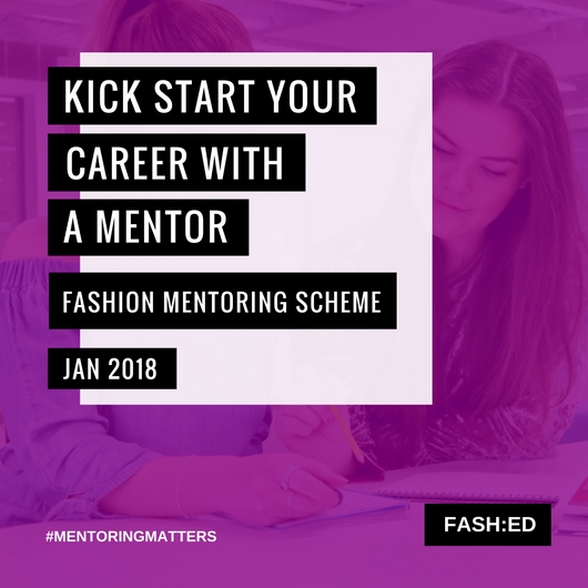 Mentoring is invaluable! Together we can build, grow and develop! - Contact info@fashed.co.uk for more information