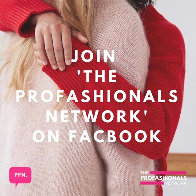 JOIN THE PROFASHIONALS NETWORK! - Want to build your network? Need feedback on a project? Need advice for your business? Need a recommendation for a manufacturer? Need a new job? Need an internship? Want to attend an event? Want to swap skills or collaborate? Want to get involved in competitions? Then join our private Facebook group! We've already got fab friendly fashion creatives in the community so join us now! Simply search 'THE PROFASHIONALS NETWORK' on Facebook or DM us for the link! It's more than just a FB group!