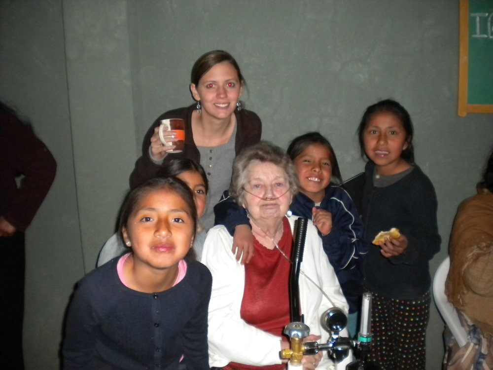 Photos from our first visit to Bolivia in 2010
