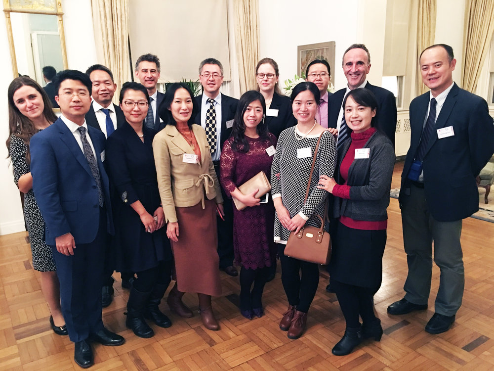Chinese lawyers with Chair of the Bar, Chantal-Aimée Doerries QC