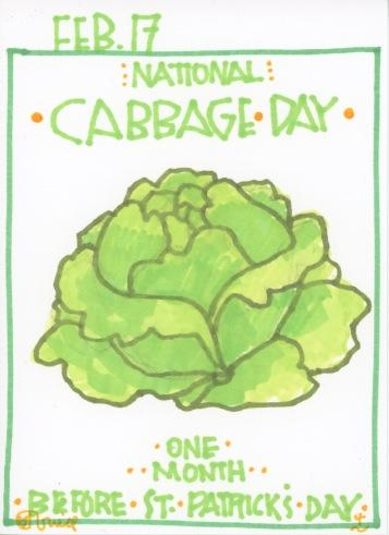 Cabbage 2017